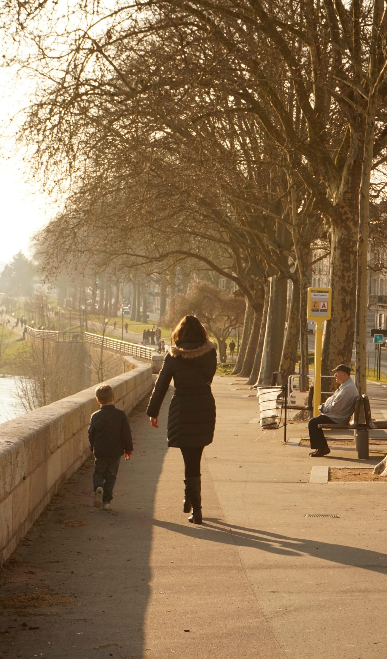 de paseo por el Loira