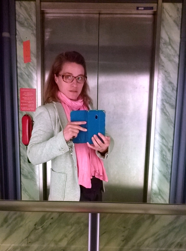 ma petite tribu On the lift