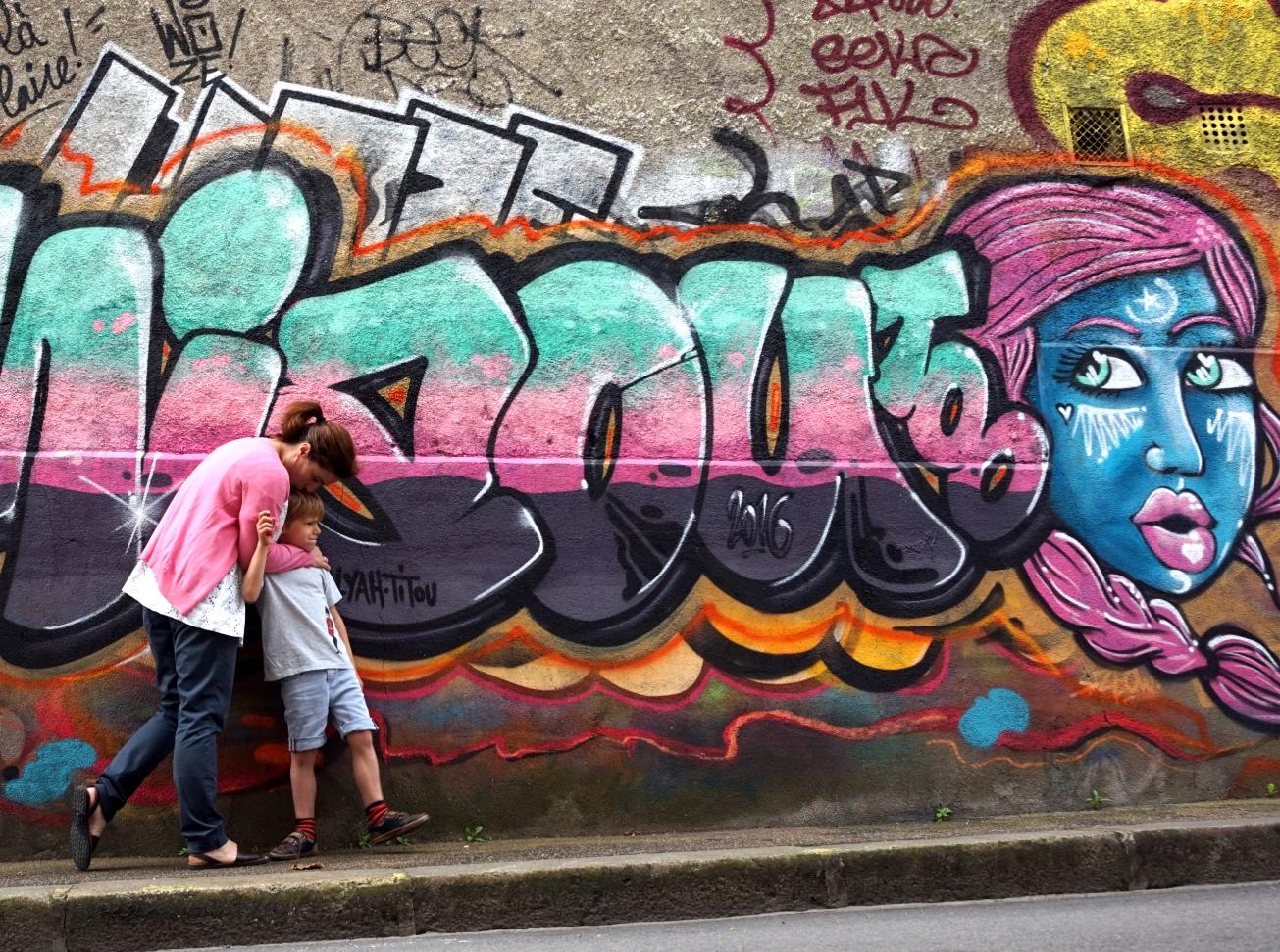 ma petite tribu grafiti